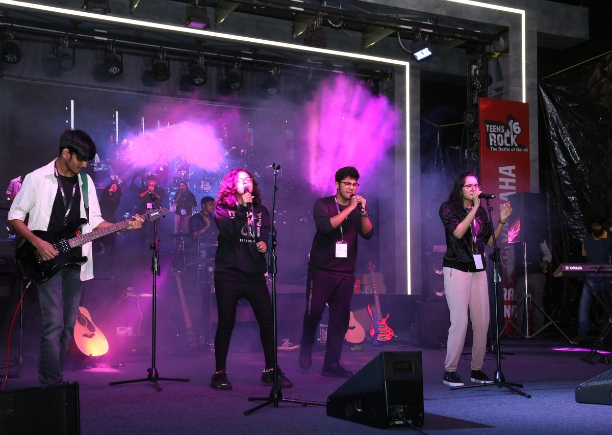 Teens Rock - the Battle of Bands by Yamaha
